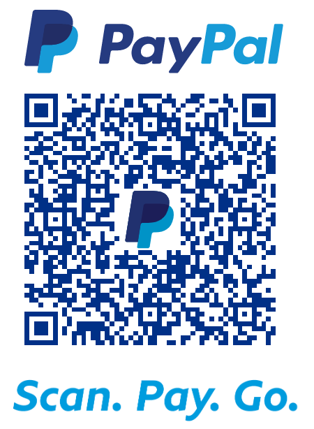 Scan with your smartphone to make a donation